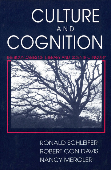 Culture and Cognition - The Boundaries of Literary and Scientific Inquiry - cover