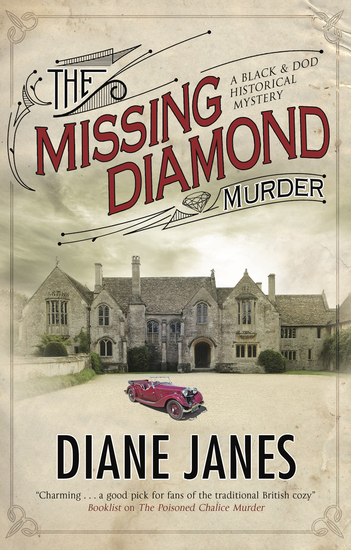 Missing Diamond Murder The - cover