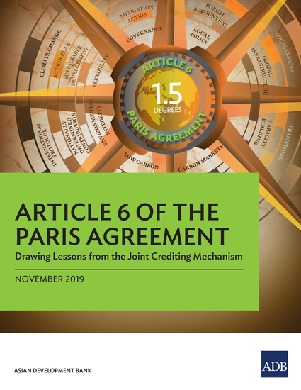 Article 6 of the Paris Agreement - Drawing Lessons from the Joint Crediting Mechanism - cover