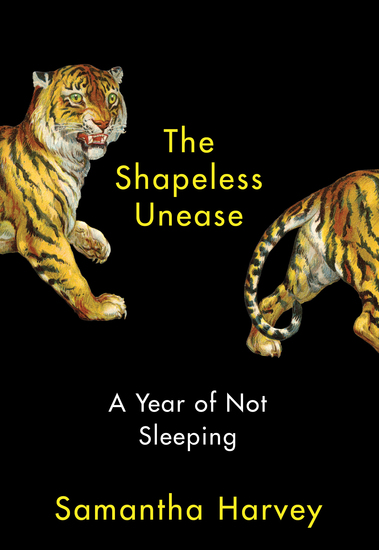 The Shapeless Unease - A Year of Not Sleeping - cover