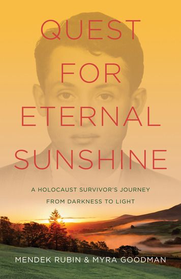 Quest for Eternal Sunshine - A Holocaust Survivor's Journey from Darkness to Light - cover
