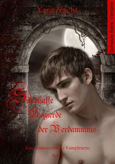 Sündhafte Begierde der Verdammnis I - Eine homoerotische Vampirserie Teil 1 - cover
