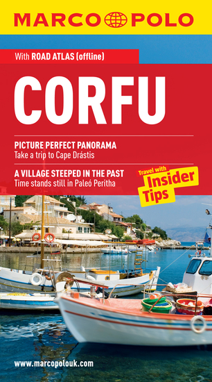 Corfu Marco Polo Travel Guide - The best guide to the Corfu: accomodation restaurants attractions and much more - cover