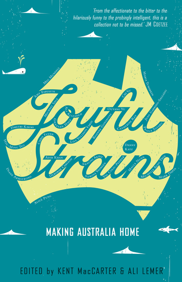 Joyful Strains - Making Australia Home - cover