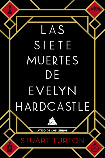 Las siete muertes de Evelyn Hardcastle - cover