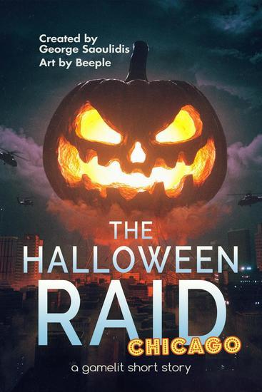 The Halloween Raid: Chicago - The Halloween Raid #2 - cover