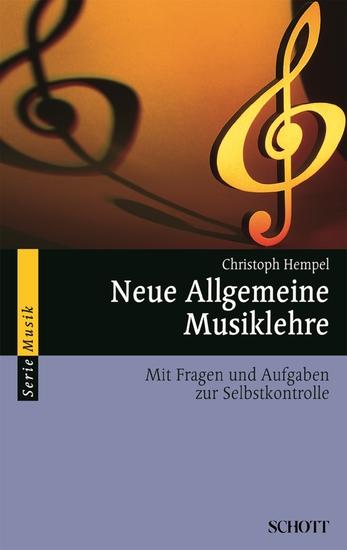 Neue Allgemeine Musiklehre - Mit Fragen und Aufgaben zur Selbstkontrolle - cover