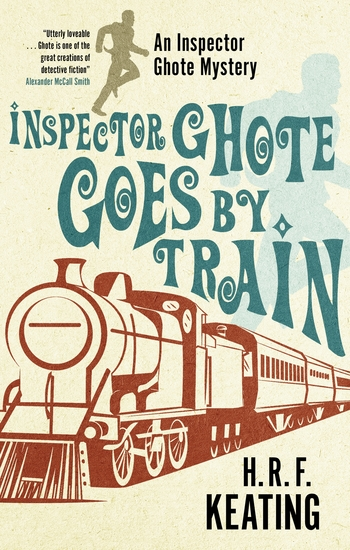 Inspector Ghote Goes by Train - cover