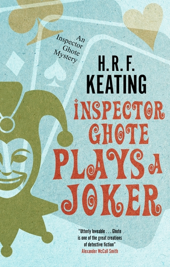 Inspector Ghote Plays a Joker - cover