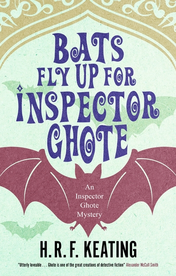 Bats Fly Up for Inspector Ghote - cover