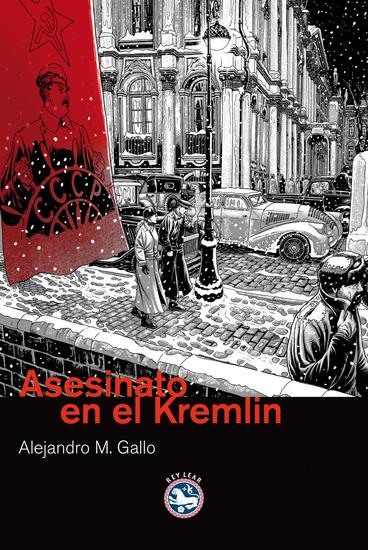 Asesinato en el Kremlin - XIV Premio Francisco García Pavón de Narrativa Policíaca - cover