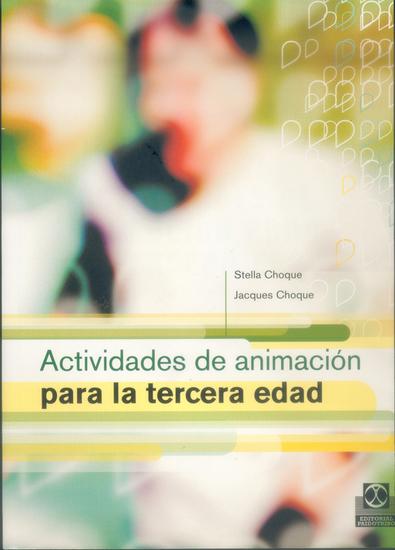 Actividades de animación para la tercera edad - cover