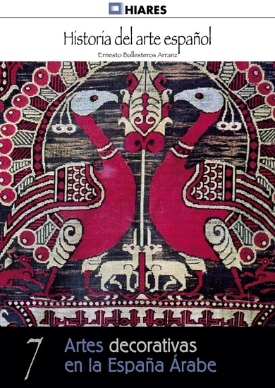 Artes decorativas en la España Árabe - cover