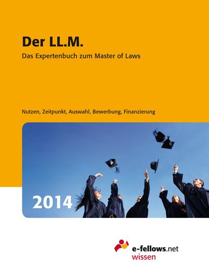 Der LLM 2014 - Das Expertenbuch zum Master of Laws - cover
