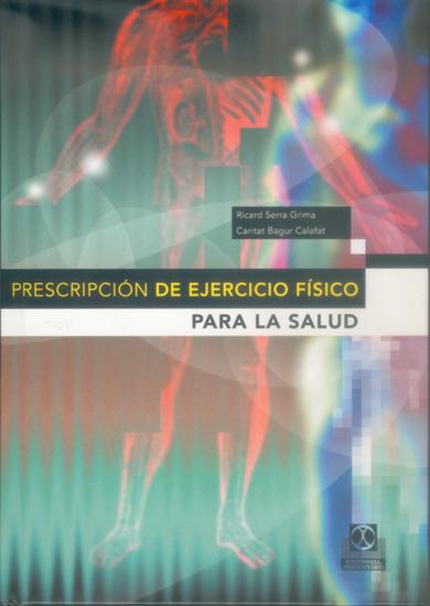 Prescripción de ejercico físico para la salud - cover