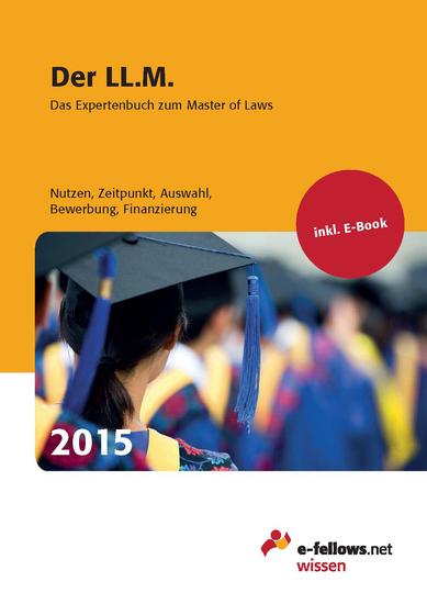 Der LLM 2015 - Das Expertenbuch zum Master of Laws - cover