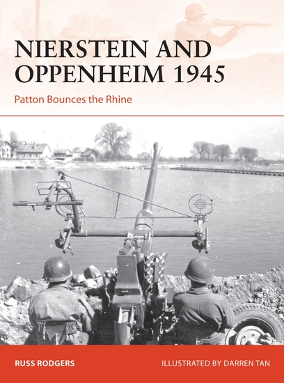 Nierstein and Oppenheim 1945 - Patton Bounces the Rhine - cover