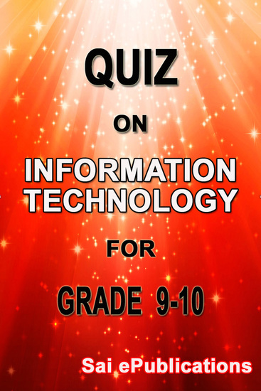 Quiz on Information Technology for Grade 9-10 - cover