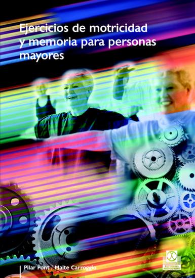 Ejercicios de motricidad y memoria para personas mayores (Color) - cover