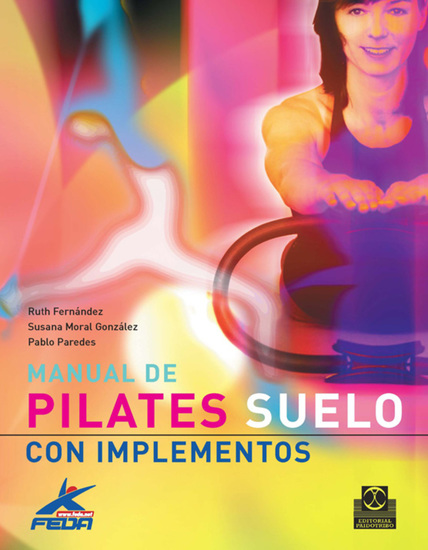 Manual de pilates - Suelo con implementos (Color) - cover