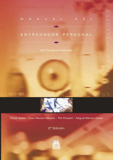 Manual del entrenador personal - Del fitness al wellness (Color) - cover