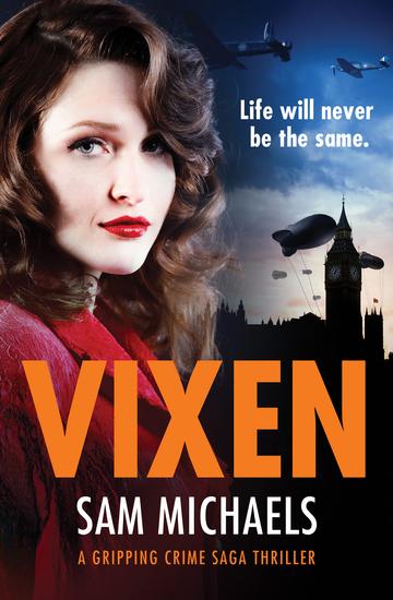 Vixen - a gripping crime novel - cover
