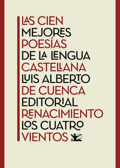 Las cien mejores poesías de la lengua castellana - cover
