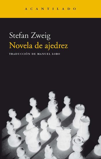 Novela de ajedrez - cover
