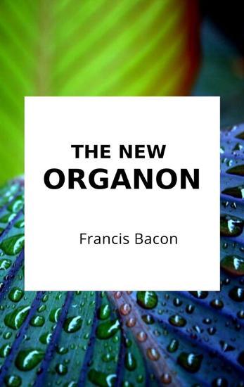 The New Organon - cover