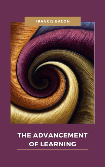 The Advancement of Learning - cover