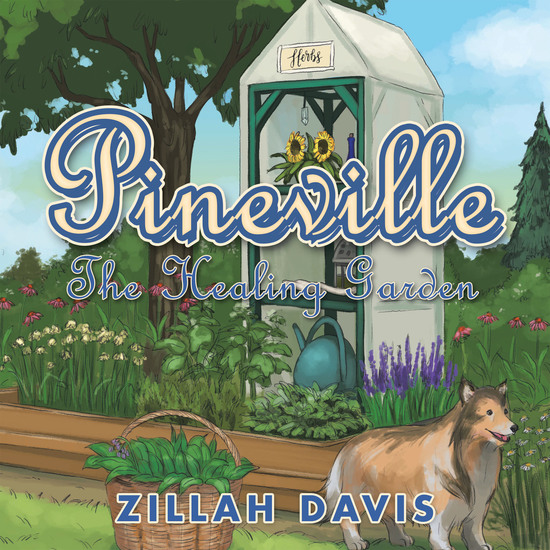 Pineville - The Healing Garden - cover