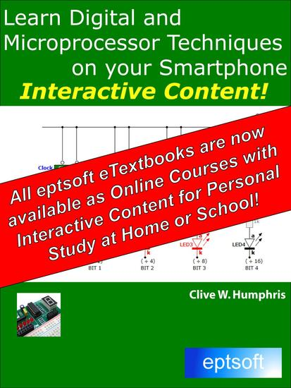 Learn Digital and Microprocessor Techniques on your Smartphone - cover
