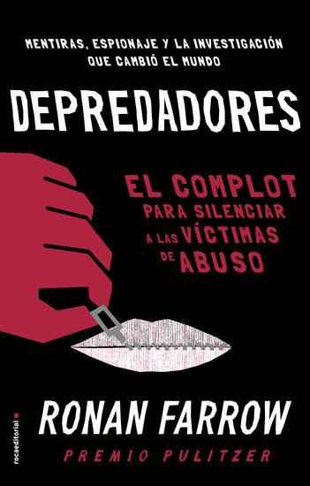 Depredadores - El complot para silenciar a las víctimas de abuso - cover