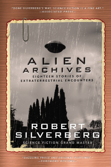 Alien Archives - Eighteen Stories of Extraterrestrial Encounters - cover