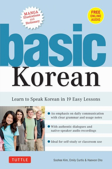 Basic Korean - Learn to Speak Korean in 19 Easy Lessons (Companion Online Audio and Dictionary) - cover