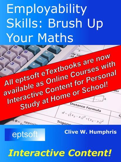 Employability Skills - Brush Up Your Maths - cover