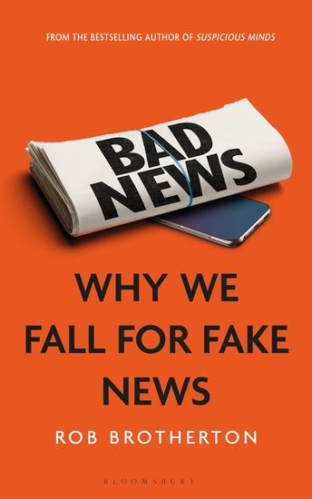 Bad News - Why We Fall for Fake News - cover