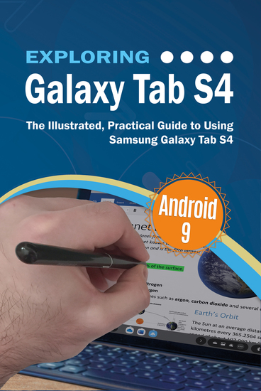 Exploring Galaxy Tab S4 - The Illustrated Practical Guide to using Samsung Galaxy Tab s4 - cover