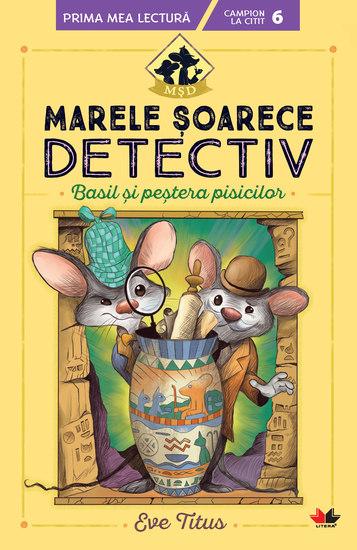 Marele Soarece Detectiv Basil Si Pestera Pisicilor - cover