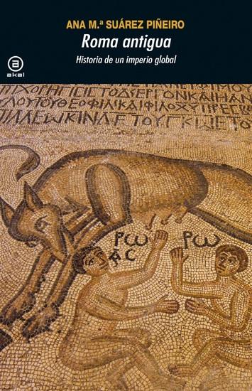 Roma antigua - Historia de un imperio global - cover