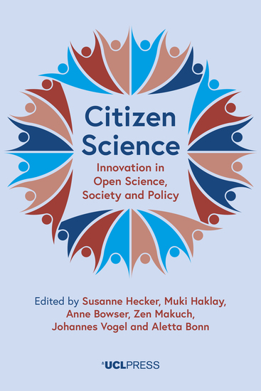 Citizen Science - Innovation in Open Science Society and Policy - cover