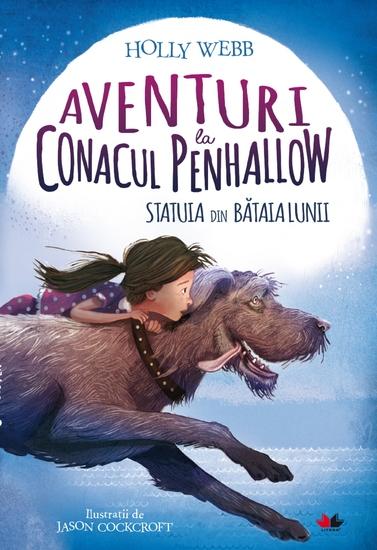 Aventuri La Conacul Penhallow - Statuia Din Bătaia Lunii - cover