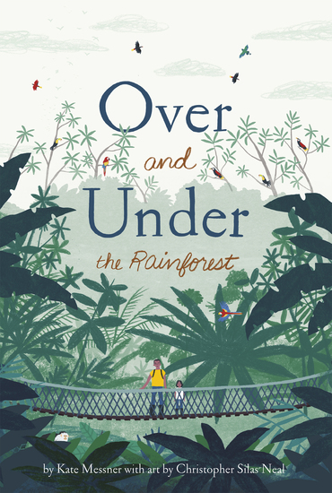 Over and Under the Rainforest - cover