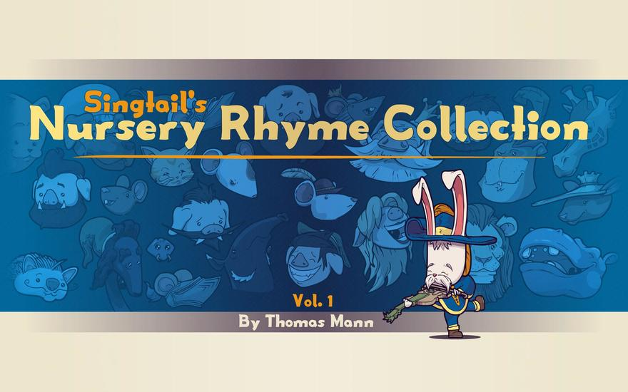 Singtail's Nursery Rhyme Collection - Vol1 - cover