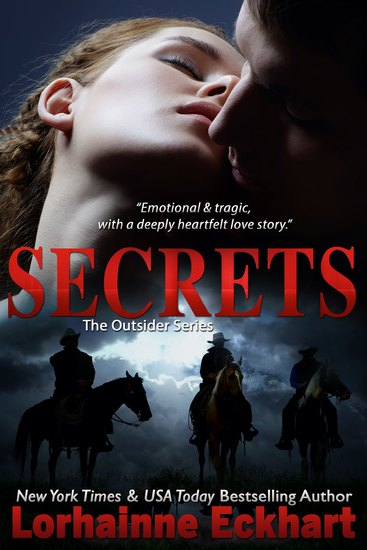 Secrets - The Outsider Series (Diana & Jed) - cover