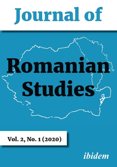 Journal of Romanian Studies - Volume 21 (2020) - cover