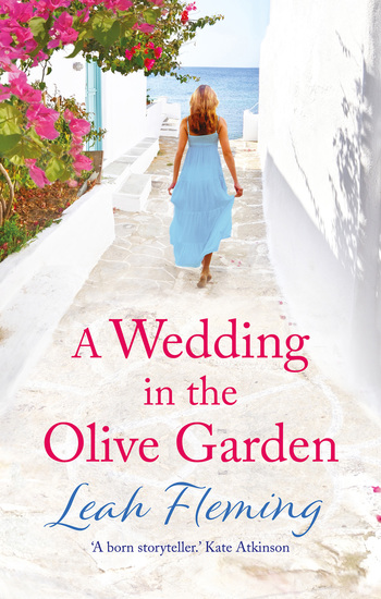 A Wedding in the Olive Garden - an uplifting story of friendship set under the Greek sun - cover