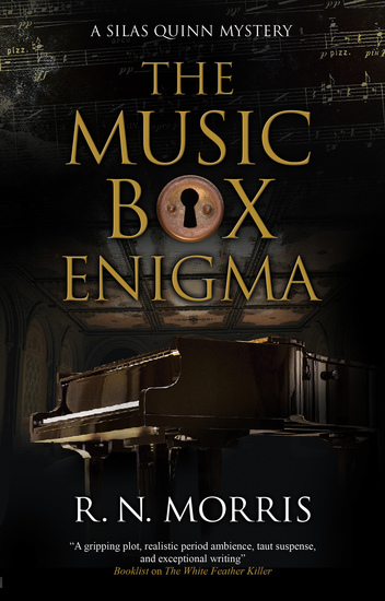 The Music Box Enigma - cover