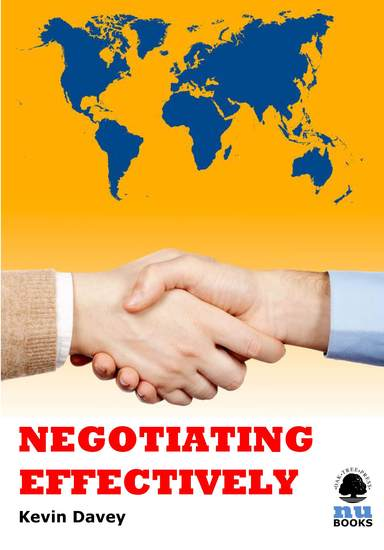 Negotiating Effectively - cover