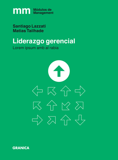Liderazgo gerencial - cover